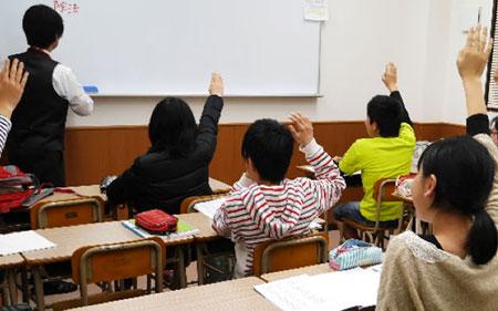 塾のクラスの雰囲気が確認できます